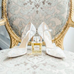 channel perfum and wedding shoes