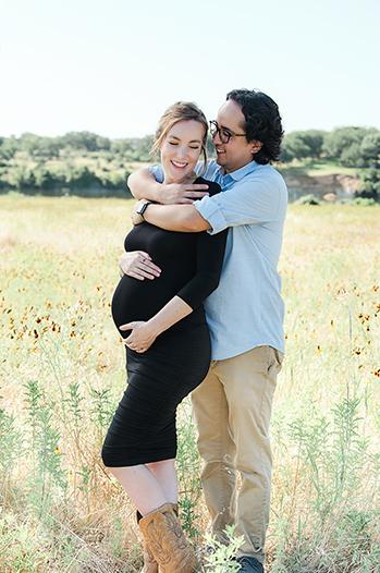 maternity portrait session
